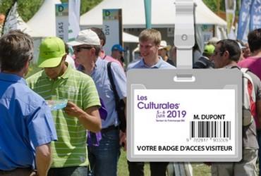 telechargez votre badge d'acces aux culturales