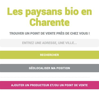 Paysans bio de Charente